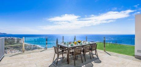 Ferienhaus Costa del Sol – Nerja 4112 mit Meerblick und privatem Pool für 8 Personen, Strand = 1,3 km. An- und Abreisetag Samstag.