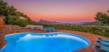 Mallorca Nordküste – Ferienhaus Puerto Pollensa 3567 mit privatem Pool für 6 Personen, Strand = 2,3 km. An- und Abreisetag Samstag.