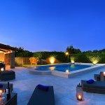 Luxus-Finca Pollensa MA5371 Beleuchtung am Abend