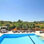 Luxus-Finca Pollensa MA5371 Blick über den Pool