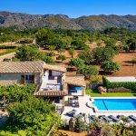 Luxus-Finca Pollensa MA5371 Blick auf das Anwesen