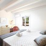 Luxus-Finca Pollensa MA5371 Schlafraum mit Doppelbett
