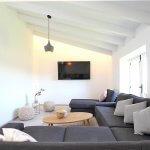 Luxus-Finca Pollensa MA5371 Sitzecke mit TV