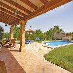 Ferienhaus Mallorca MA2097 überdachte Terrasse