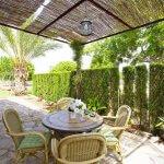 Ferienhaus Mallorca MA2097 überdachte Terrasse mit Tisch