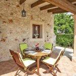 Ferienhaus Mallorca MA2097 Esstisch auf der Terrasse