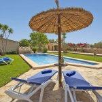 Ferienhaus Mallorca MA2097 Sonnenliegen am Pool