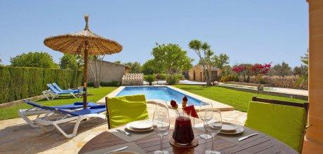 Mallorca Nordküste – Casa Margalida 2097 mit Pool, Grundstück 5.200qm, Wohnfläche 70qm. Wechseltag flexibel – Mindestmietzeit 1 Woche.
