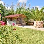 Ferienhaus Mallorca MA2310 Garten mit Kinderhaus