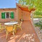 Ferienhaus Mallorca MA2310 Terrasse mit Tisch