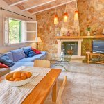 Ferienhaus Mallorca MA2310 Wohnbereich