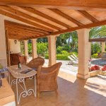 Ferienhaus Mallorca MA3158 überdachte Terrasse