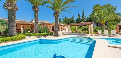 Mallorca Nordküste – Ferienhaus Pollensa 3158 mit Internet, Pool und Whirlpool für 6 Personen mieten. An- und Abreisetag Samstag.