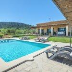 Ferienhaus Mallorca MA33183 Liegen am Pool