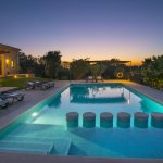 Ferienhaus Mallorca MA33183 Poolbeleuchtung am Abend