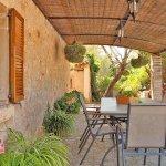 Ferienhaus Mallorca MA3520 Terrasse mit Tisch