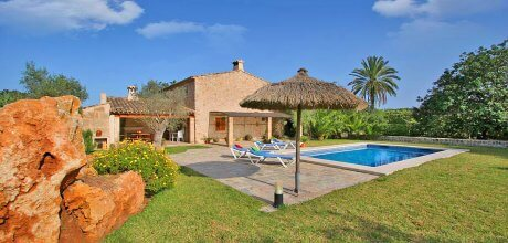 Mallorca Nordküste – Komfort-Ferienhaus Pollensa 3520 mit Pool, Strand 3,8km. 03.07. – 27.08.21: Wechseltag Samstag, Nebensaison flexibel.