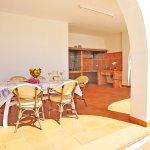 Ferienhaus Mallorca MA3926 Esstisch auf der Terrasse