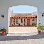 Ferienhaus Mallorca MA3926 Patio vor dem Haus
