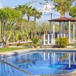 Ferienhaus Mallorca MA4170 Swimmingpool und Teich mit Pavillon