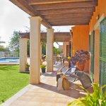 Ferienhaus Mallorca MA4807 überdachte Terrasse