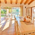Ferienhaus Mallorca MA4807 Esstisch mit Zugang zur Terrasse