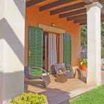 Ferienhaus Mallorca MA4807 Gartenmöbel auf der Terrasse