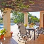 Ferienhaus Mallorca MA4807 Terrasse am Pool
