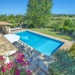 Ferienhaus Mallorca MA4808 Blick auf den Pool