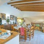 Ferienhaus Mallorca MA4808 Esstisch an der Küche