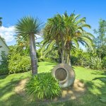 Ferienhaus Mallorca MA4808 Garten mit Palmen