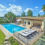 Ferienhaus Mallorca MA4808 Liegen am Pool
