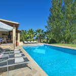 Ferienhaus Mallorca MA4808 Poolbereich mit Liegen