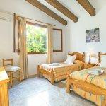 Ferienhaus Mallorca MA4808 Schlafraum mit 2 Betten