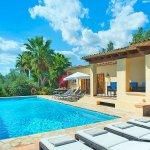 Ferienhaus Mallorca MA4808 Sonnenliegen am Pool