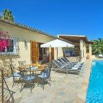 Ferienhaus Mallorca MA4808 Terrasse am Pool