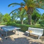 Ferienhaus Mallorca MA4808 Tischtennisplatte auf der Terrasse