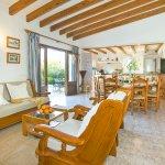 Ferienhaus Mallorca MA4808 Wohnbereich