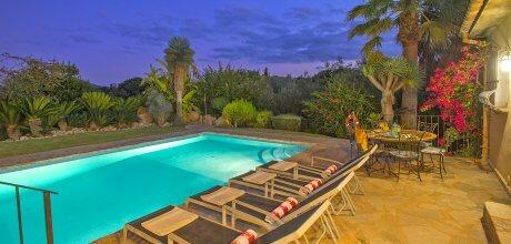 Mallorca Nordküste – Ferienhaus Pollensa 4808 mit großem Pool für 8 Personen. Strand 9 Km. An- und Abreisetag Samstag.  – – Wenn wegen Corona / Covid 19 kein Aufenthalt im Zielgebiet möglich ist, kann ab 14 Tage vor Anreise kostenlos umgebucht oder storniert werden!