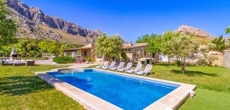 Mallorca Nordküste – Ferienhaus Puerto Pollensa 3186 mit Pool für 6 Personen, Strand = 1,7 km. Wechseltag Samstag, Nebensaison flexibel auf Anfrage – Mindestmietzeit 1 Woche.