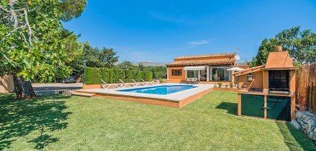 Mallorca Nordküste – Komfort Ferienhaus Pollensa 2291 mit Pool mieten, Strand 3,7km. An- und Abreisetag Samstag, bis 04.06. und ab 04.09.2021 flexibel.