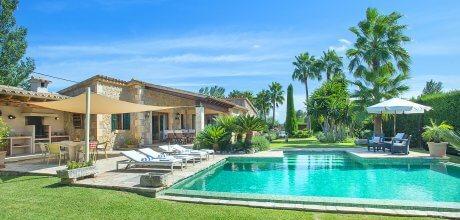 Mallorca Nordküste – Komfort-Finca Pollensa 2003 mit Pool und Flair in gepflegtem Garten, Grundstück 1.800qm, Wohnfläche 120qm . An- und Abreisetag nur Freitag!