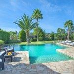 Finca Mallorca MA2003 Pool mit Gartenmöbel