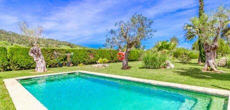 Mallorca Nordküste – Komfort-Finca Pollensa 3440 mit Pool, Grundstück 6.000qm, Wohnfläche 126qm. An- und Abreisetag vom 03.07. – 02.10.2021 nur Samstag,  Mindestmietzeit 1 Woche.