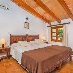 Finca Pollensa MA3505 Schlafraum mit Doppelbett