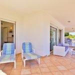Villa Mallorca MA4655 Gartenmöbel auf der Terrasse