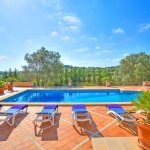 Villa Mallorca MA4680 Blick über den Pool