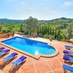 Villa Mallorca MA4680 Blick auf den Pool