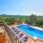 Villa Mallorca MA4680 Blick vom Balkon
