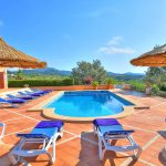 Villa Mallorca MA4680 Gartenmöbel am Pool